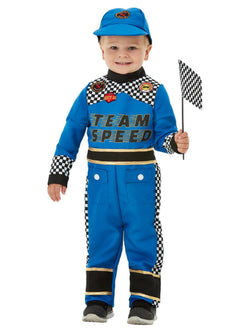 Toddler Racing Car Driver Costume - The Halloween Spot