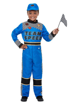 Racing Car Driver Costume - The Halloween Spot