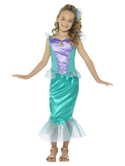 Girl's Deluxe Mermaid Costume - The Halloween Spot