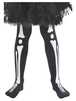 Skeleton Tights, Child - The Halloween Spot