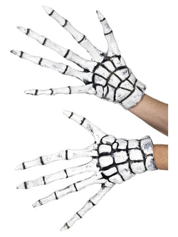 Grim Reaper Skeleton Gloves - The Halloween Spot
