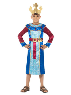 Blue colour King Melchior Costume