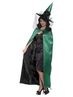 Deluxe Reversible Witch Cape
