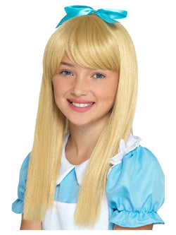 Wonderland Princess Wig, Blonde, Kids