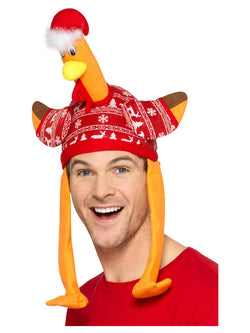 Turkey Hat with Christmas Jumper - The Halloween Spot
