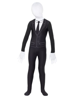 Supernatural Boy Costume, Black & White, with Bodysuit
