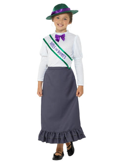 Girl's Victorian Suffragette Costume - The Halloween Spot
