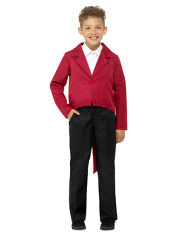 Kids Red Tailcoat - The Halloween Spot
