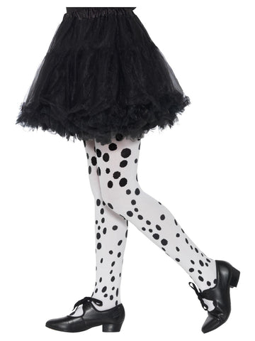 Girl's Dalmatian Tights, Childs