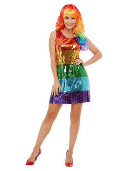 All That Glitters Rainbow Costume - The Halloween Spot