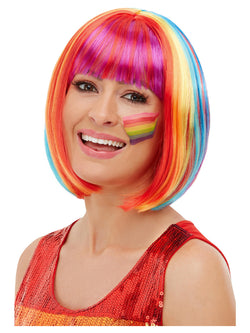 Rainbow Bob Wig - The Halloween Spot