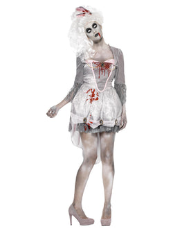 Women's Zombie Georgian Costume - The Halloween Spot