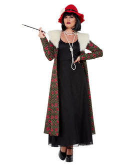 20s Gangster's Mol Costume, Black - The Halloween Spot
