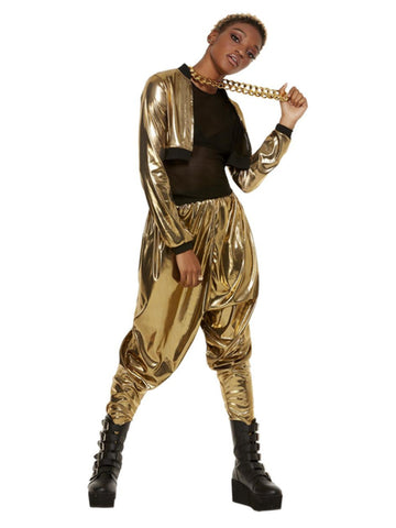 80s Hammer Time Costume, Gold
