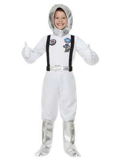 Out of Space Astronaut Costume, White - The Halloween Spot