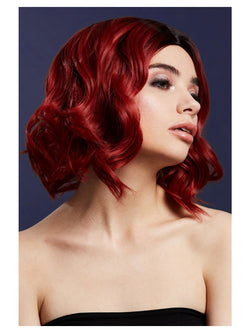 Fever Kourtney Wig, Two Toned Blend, Ruby Red - The Halloween Spot