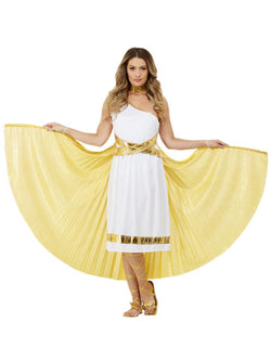 Deluxe Grecian Cape, Gold - The Halloween Spot