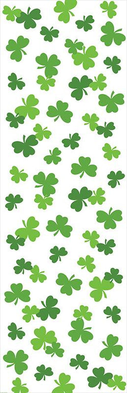 St Patricks Day Party Shamrocks All Over Print Tablecover 1 Ct.