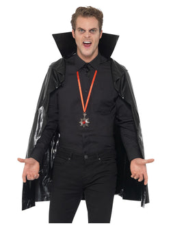 PVC Vampire Cape - The Halloween Spot