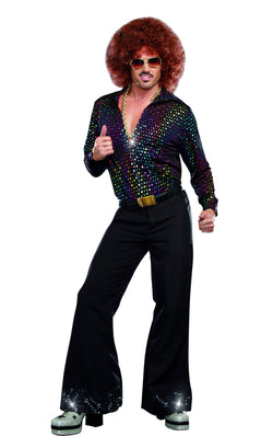 "Men's  Disco Costume ""Disco Dude"", 1-Piece Set - The Halloween Spot"