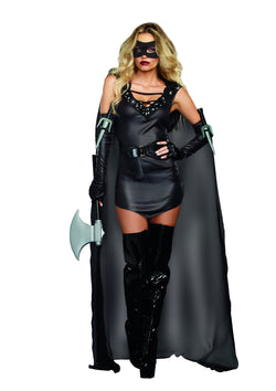 Women's The Assasin (Female)- 3 Piece Costume Set - The Halloween Spot