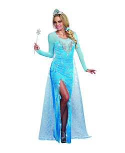 Women's Ice Queen - 2 Piece Costume Set