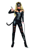 Women'S Cat Fight- 3 Piece Costume Set
