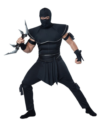 Men's Stealth Ninja Adult Costume