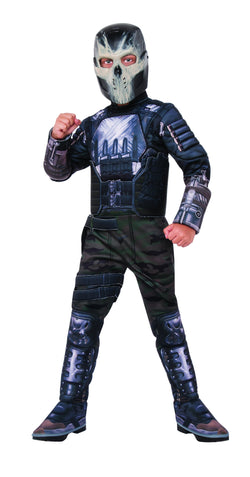Deluxe Muscle Chest Kids Crossbones Costume - The Halloween Spot