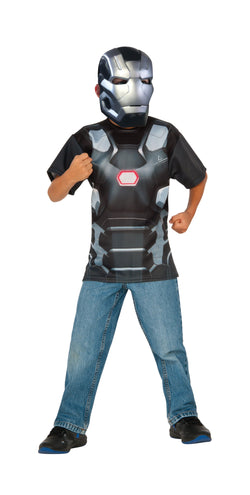 Kids War Machine Costume Top and Mask - The Halloween Spot