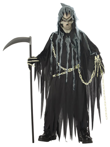 Boy's Mr. Grim Child Scary Costume