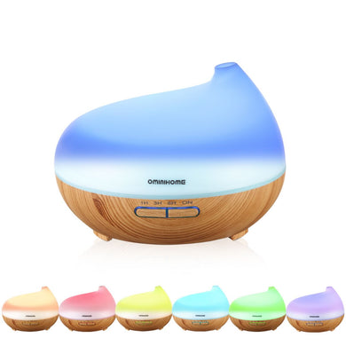 Aroma Essential Oil Diffuser - 300ml Ultrasonic Cool Mist Humidifier