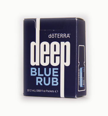 doTERRA Deep Blue Rub Sample Packets | 2-ml Each | 10-Pack