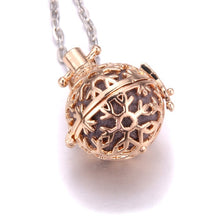 Multi-colored aromatherapy lockets flower Aroma Diffuser Essential Oils Diffuser Perfume Pendant Necklace fasion Jewelry