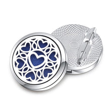 New Charm Angel Wings Heart Cat Pineapple Brooches Accessories Wholesale Pin Badge Essential Oil Diffuser Perfume Locket Jewelry