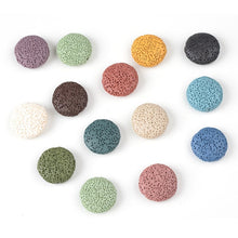 Natural Volcanic Rock Essential Oil Perfume Diffuser Beads for Jewelry Making DIY Necklace Bracelet Earrings Jewelry Accessories