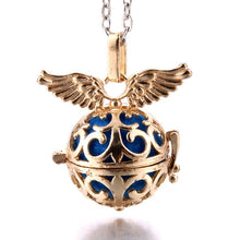 Rotating sphere Charm Aromatherapy Pendant Spherical Locket for Aroma Essential Oil Aroma Diffuser Necklace Jewelry