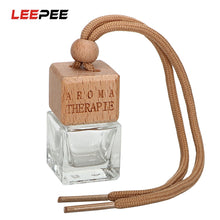 LEEPEE Car Perfume Empty Bottle for Essential Oils Air Freshener Auto Ornament Car-styling Perfume Pendant Hot Car Accessories