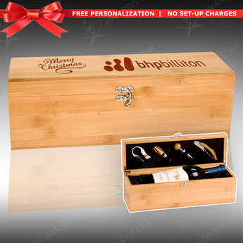 Bamboo Wine Box