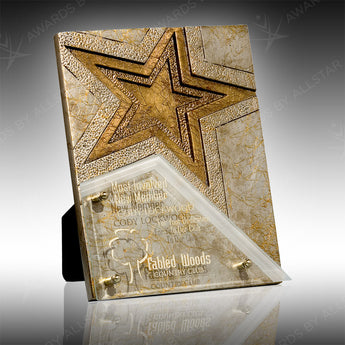 Bordeaux Star Plaque