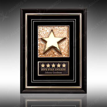 Frontera Gold Plaque