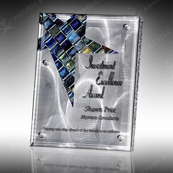 Gleaming Star Plaque