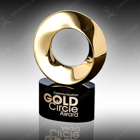 Gold Circle of Success