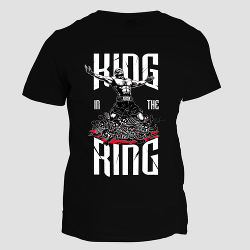 King in the Ring Seven Skulls Tee
