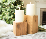 Block Candle Risers