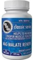 MAG MALATE RENEW 120 caps
