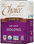 Choice Organic Teas Oolong Tea 16 Sachets