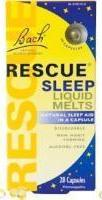 Rescue Sleep Natural Sleep Remedy Liquid Melts 28 Capsules