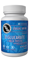 D-Glucarate + Milk Thistle 163mg
