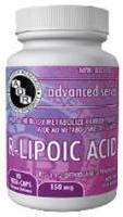 R-LIPOIC ACID, 150mg, 90 caps